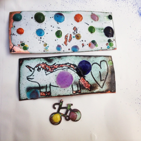 Introduction to Enameling - Sunday 07 May 2017